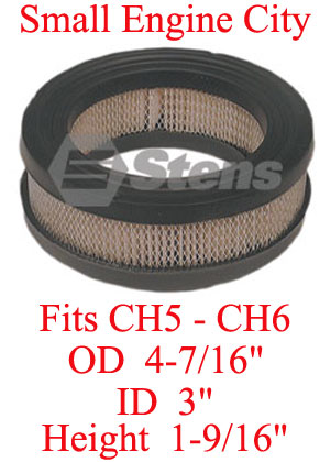 15 083 06-KO 004 Air Filter Fits most Kohler CH5 AND CH6 Models