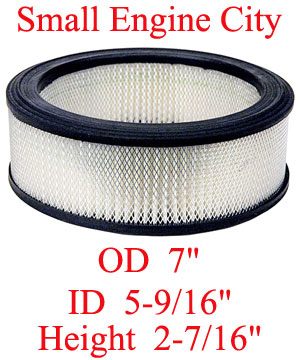 100-016-KO 004 Air Filter Replaces Kohler 47 083 03