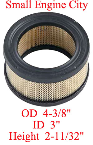 100-032-KO 004 Air Filter Replaces Kohler 231847