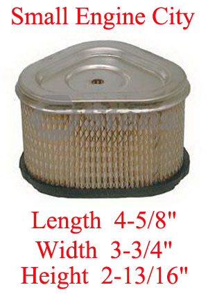 100-941-KO 004 Air Filter Fits Some Kohler Command CV11-CV15.  Check Height of Filter for a Taller Filter see Filter Above