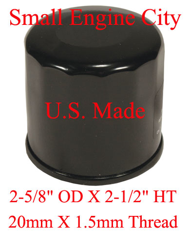 120-137-JD 118 Oil Filter Replaces John Deere M806418