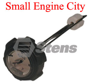 125-120-DC 227 Gas Cap with Gauge Replaces Dixie Chopper 40222