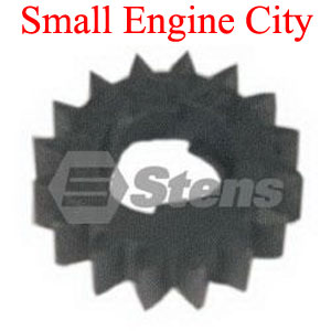 150-019-BR 153  Briggs and Stratton Starter Drive Gear for Aluminum and Plastic Ring Gears.   1 5/8 inch  OD  16 Teeth