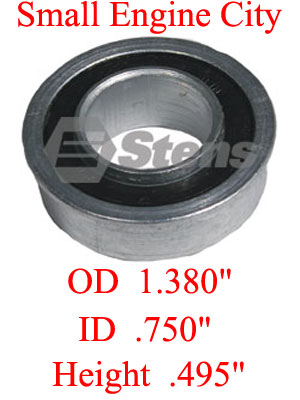 215-210-MT  Ball Bearing  ID: 3/4 inch /  OD: 1 3/8 inch  /  Height:  1/2 inch