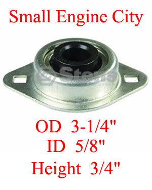 225-560-BO  Bobcat Flange Bearing Fits Models:  BOBCAT Mid-size walk behinds with Peerless transmission