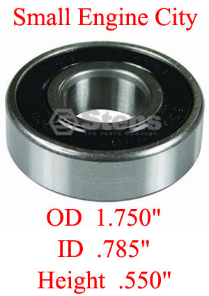 230-029-MT  Spindle Bearing ID:  0.787 inch  /  OD:  1.85 inch  / Height:  0.551 inch