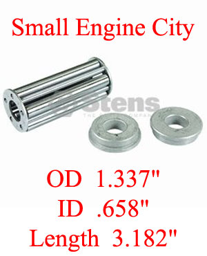 230-665-BO  Bobcat Wheel Bearing Kit  Fits Models:  BOBCAT 9-350-4 deck wheels