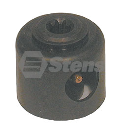 240-888-EX Exmark Coupler Fits Models:  5-speed transmissions with 9 spline output shaft