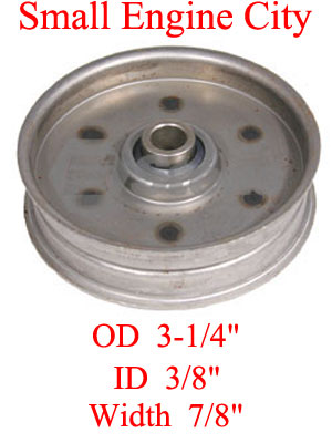 280-081-MT 129 Idler Pulley Replaces MTD 756-0240