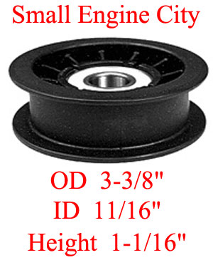 280-097-JD 396 Idler Pulley Replaces GX20287
