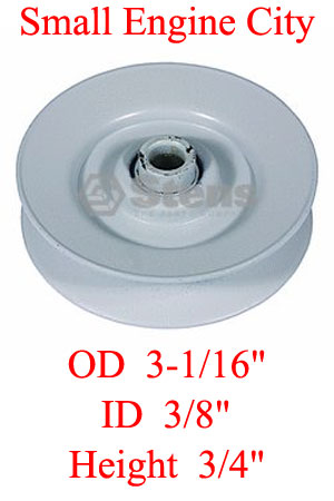 280-263-JD 396 Idler Pulley Replaces AM103019