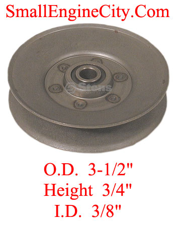 280-297-MTD 129 Idler Replaces MTD 756-0499