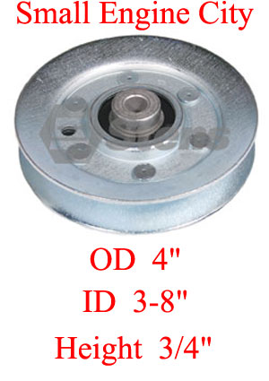 280-362-MT 129 Idler Pulley Replaces MTD 756-0293 / 756-0293A