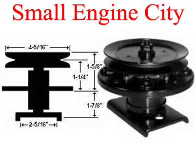 285-895-AY  Spindle Assembly  Replaces 121622X / 121658X 136818 / 136819 / 106037X / 105483X
