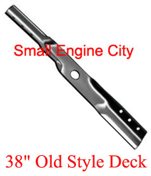 335-578-SN 034 Blade Requires 2 for 38 inch deck - Fits older 38 inch Snapper Mowers