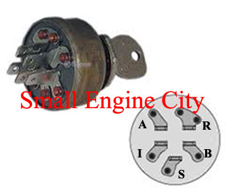 430-249  Ariens Ignition Switch