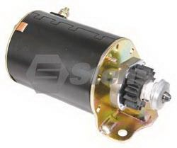 PET-2245 Electric Starter Fits  Briggs and Stratton  - Single Cylinder Plastic Gear