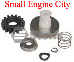 435-859-BR 153 Starter Drive Kit for Briggs Starters with Plastic Gear and held on with circlip.