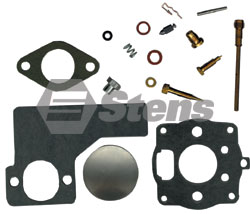 520-072-BR Carburetor Kit  Fits most 10-12hp Horizontal Single Cylinder Engines