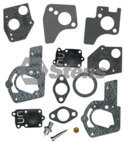520-522-BR Carburetor Kit  Fits 3 thru 5 hp Horizontal Engines with Pulsa-Jet Carburetor