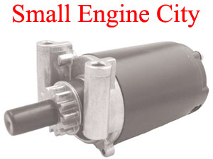 PET-2255 - 159 Aftermarket Kohler Starter  Fits models CH11, 12.5, 13, 14, 15 and CV15  Battery Connection On End